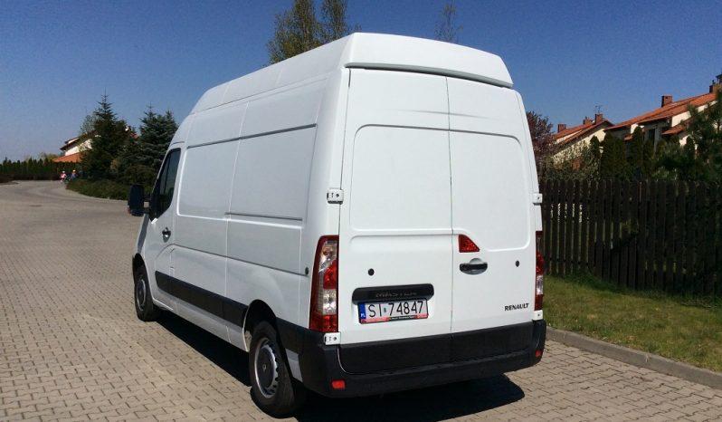 Furgon / Blaszak Renault Master bez haka full