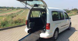 VW Caddy dla niepełnosprawnych (rampa inwalida)