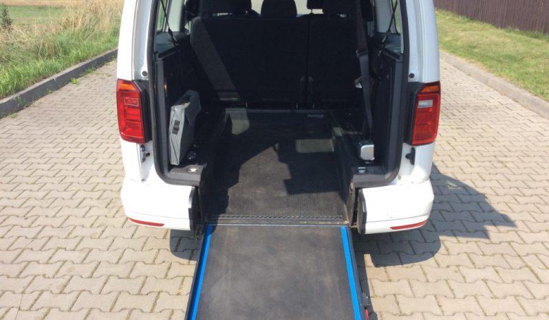 VW Caddy dla niepełnosprawnych (rampa inwalida) full