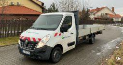 Renault Master, dostawczy z otwartą paką